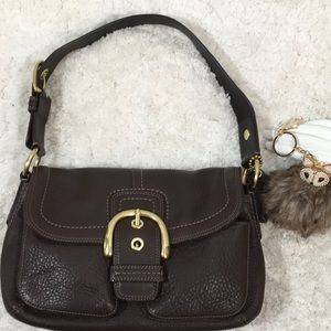 Coach brown Legacy hobo bag